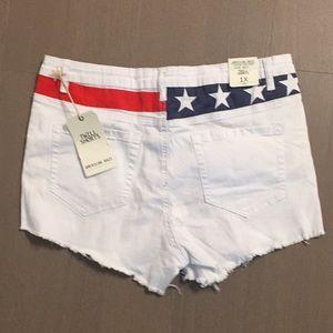American Bazi Shorts - NWT American Flag Shorts